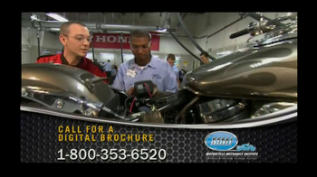 Motorcycle Mechanics Institute TV Spot, 'Love Beyond Riding' - Thumbnail 3