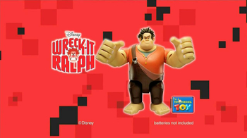 Wreck-It Ralph Talking Action Figure TV Spot, 'Smash and Bash' - 90 commercial airings