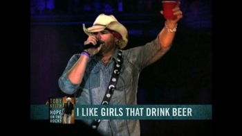 Toby Keith Hope on the Rocks Deluxe Edition TV Spot - Thumbnail 4