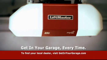LiftMaster Battery Backup TV Spot, 'Get in Your Garage' - Thumbnail 8
