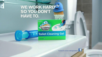 Scrubbing Bubbles Toilet Cleaning Gel TV Spot, 'Nasty' - Thumbnail 8
