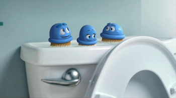 Scrubbing Bubbles Toilet Cleaning Gel TV Spot, 'Nasty' - Thumbnail 7