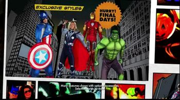 Party City Final Days Halloween Costumes TV Spot, 'Thriller'