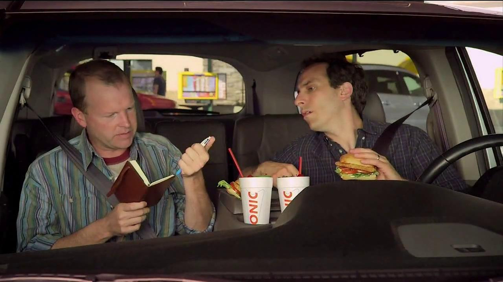 Sonic Drive-In Asiago Chicken Sandwich TV Commercial, 'Mind-Blown Notes'