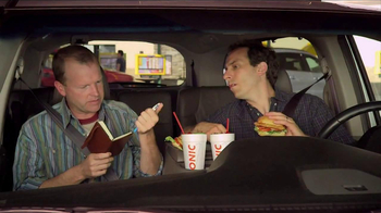 Sonic Drive-In Asiago Chicken Sandwich TV Spot, 'Mind-Blown Notes' - Thumbnail 4