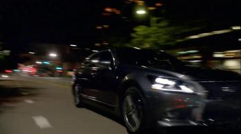2013 Lexus LS F Sport TV Spot, 'A New Pursuit' - Thumbnail 8