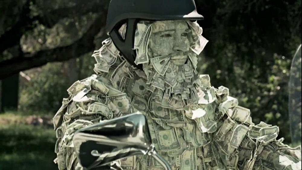 geico motorcycle insurance tv commercial   u0026 39 money man u0026 39
