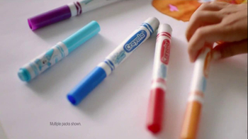 Crayola Marker Airbrush TV Spot, 'A Cool New Way' - Thumbnail 2