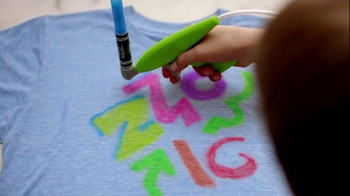 Crayola Marker Airbrush TV Spot, 'A Cool New Way' - Thumbnail 5