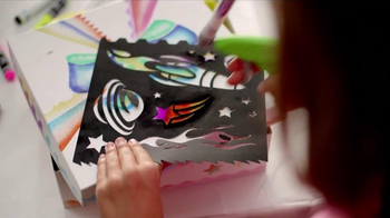 Crayola Marker Airbrush TV Spot, 'A Cool New Way' - Thumbnail 7