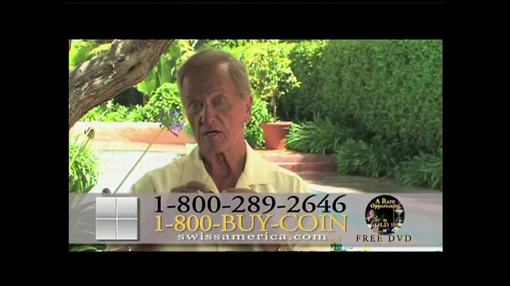 Swiss America TV Commercial, 'Power of the U.S. Dollar' Featuring Pat Boone