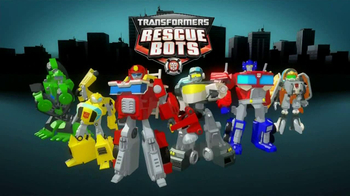 Transformers Rescue Bots Police Headquarters TV Spot, 'On the Scene' - Thumbnail 1