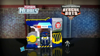 Transformers Rescue Bots Police Headquarters TV Spot, 'On the Scene' - Thumbnail 8