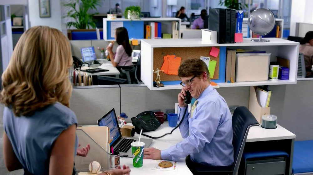 Subway Steak & Bacon Melt TV Commercial, 'Office How Could You'