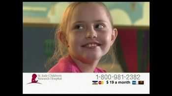 St. Jude Children's Research Hospital TV Spot, 'Hudson River'