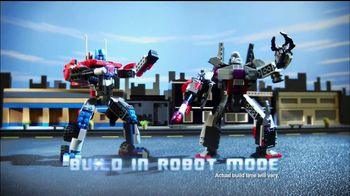 Kre-O Transformers TV Spot, 'MegaTron vs Optimus Prime Battle for Energon'