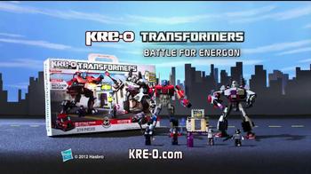 Kre-O Transformers TV Spot, 'MegaTron vs Optimus Prime Battle for Energon' - Thumbnail 10