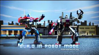 Kre-O Transformers TV Spot, 'MegaTron vs Optimus Prime Battle for Energon'
