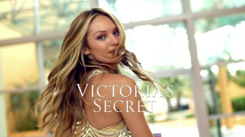 Victoria's Secret Golden Clutch TV Spot Featuring  Candice Swanepoel - 36 commercial airings