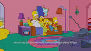 Simpsons Couch Gag Contest TV Spot  - Thumbnail 1
