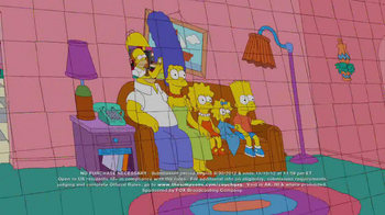 Simpsons Couch Gag Contest TV Spot  - Thumbnail 4