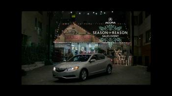Acura Season of Reason Sales Event TV Spot, 'Mechanical Santa' - Thumbnail 9