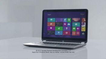 HP Envy 4 Touchsmart Ultrabook TV Spot, 'Sound of Touch' Ft DJ Robbie Wilde - Thumbnail 9