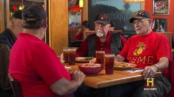 Applebee's TV Spot, 'History Channel: Veterans Day' - Thumbnail 9