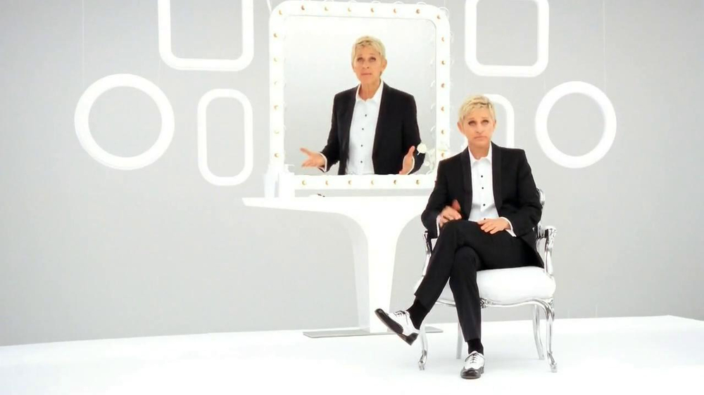 CoverGirl Simply Ageless Foundation TV Commercial Featuring Ellen DeGeneres
