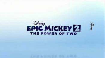 Epic Mickey 2 Power of Two TV Spot, 'Nov. 18'