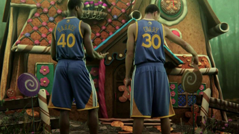 NBA Fantasy Game TV Spot Featuring Stephen Curry and Harrison Barnes