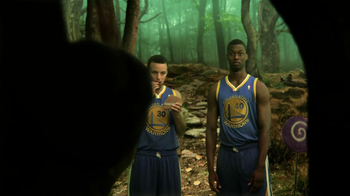 NBA Fantasy Game TV Spot Featuring Stephen Curry and Harrison Barnes - Thumbnail 4