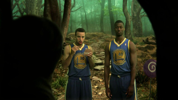 NBA Fantasy Game TV Spot Featuring Stephen Curry and Harrison Barnes - Thumbnail 5