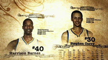 NBA Fantasy Game TV Spot Featuring Stephen Curry and Harrison Barnes - Thumbnail 7