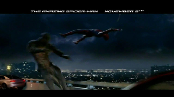 The Amazing Spider-Man Blu-Ray and DVD TV Spot - Thumbnail 3