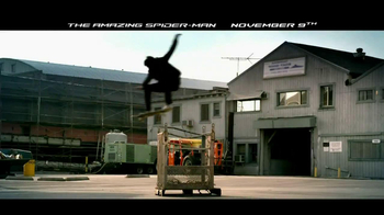 The Amazing Spider-Man Blu-Ray and DVD TV Spot - Thumbnail 6
