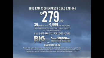 2012 Ram 1500 Express Quad Cab TV Spot, 'That Time of Year' - Thumbnail 10