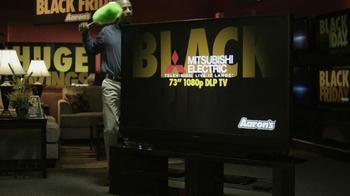 Aaron's Black Friday TV Spot, 'Preparation' - Thumbnail 3