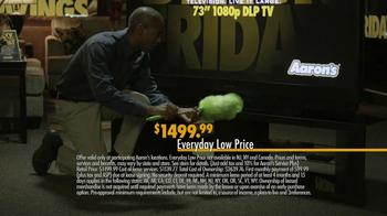 Aaron's Black Friday TV Spot, 'Preparation' - Thumbnail 6