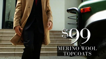 JoS. A. Bank Black Friday TV Spot, 'Topcoats' - 22 commercial airings