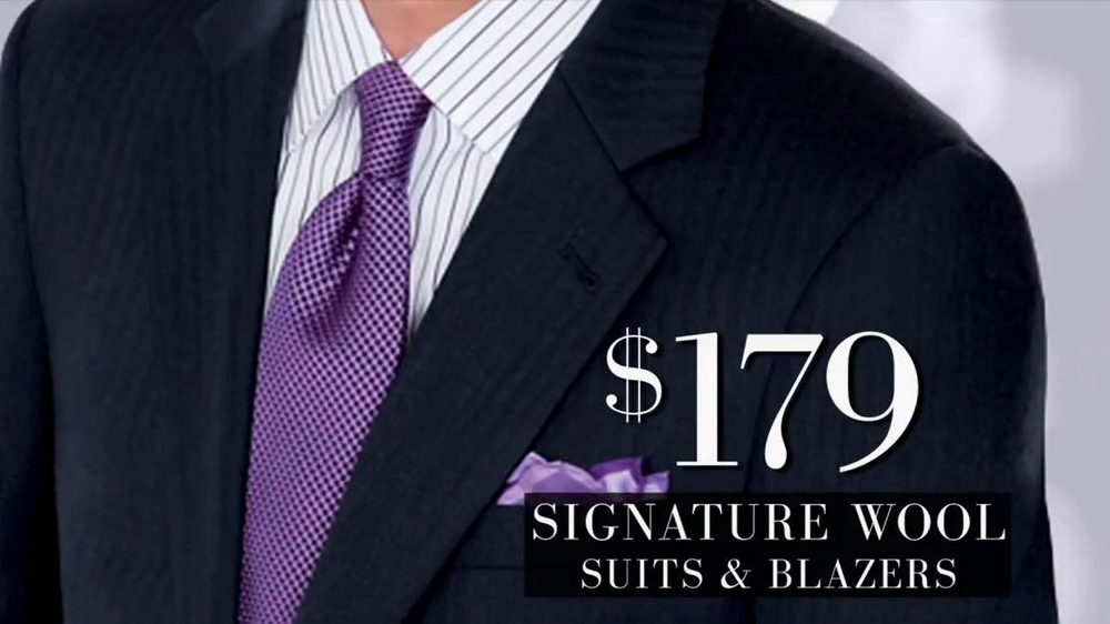 JoS. A. Bank Black Friday TV Commercial, 'Suits and Blazers'