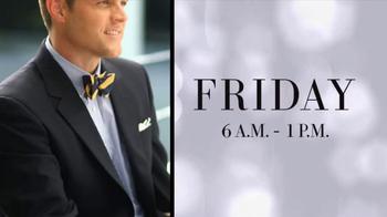 JoS. A. Bank Black Friday TV Spot, 'Suits and Blazers' - Thumbnail 6