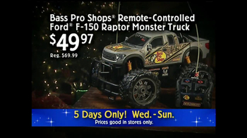 Bass Pro Shops 5-Day Sale TV Spot, 'Remote-Controlled Truck' - Thumbnail 5