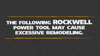Rockwell Sonicrafter TV Spot, 'Excessive Remodeling' - Thumbnail 1