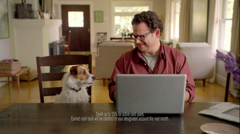 Bank Amerideals TV Spot, 'Talking To Dog' - Thumbnail 8