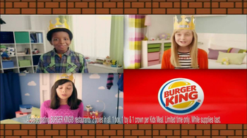 Burger King Mario Kids Meal TV Spot - Thumbnail 3