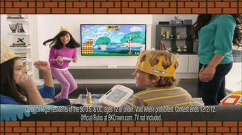 Burger King Mario Kids Meal TV Spot - Thumbnail 7