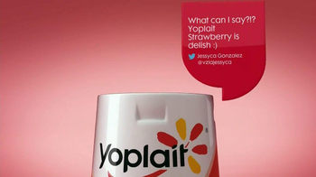 Yoplait Original Strawberry TV Spot, 'Jessica's Tweets' - Thumbnail 4