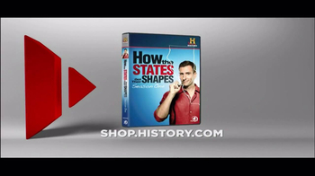 History Channel TV Spot for 'How the states got their shapes' DVD - Thumbnail 9