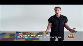History Channel TV Spot for 'How the states got their shapes' DVD - Thumbnail 2